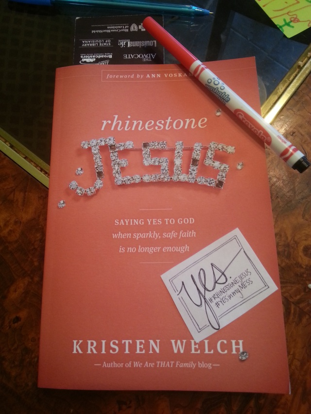 Rhinestone Jesus 2